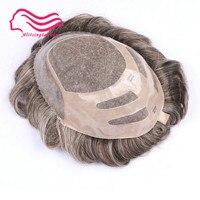 Бесплатная доставка прочный тонкий моно с NPU парик для волос, замена волос, система волос, парик для волос!