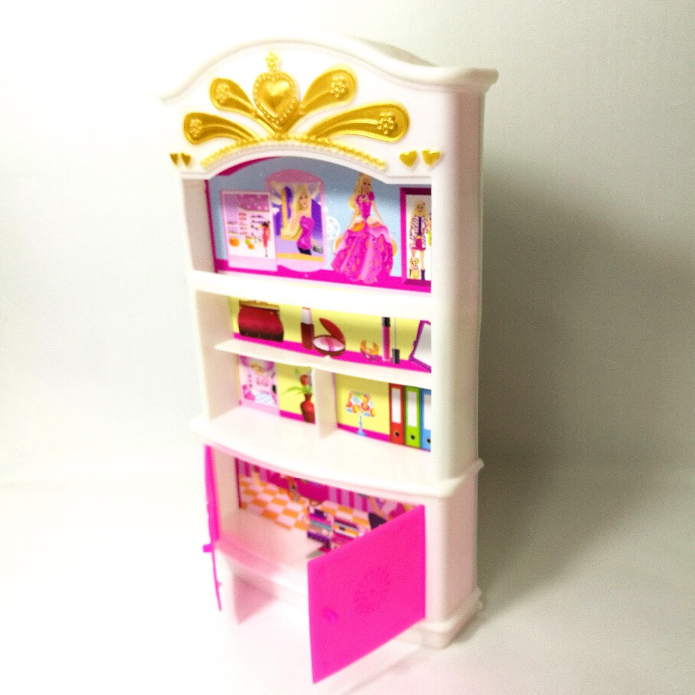 Enjoyable Us 4 47 10 Off Wardrobe Storage Cabinet Lockers For Barbie Dolls Accessories Princess Bedroom Drawer Locker Kids Doll Furniture Toy Hot Sale In Pdpeps Interior Chair Design Pdpepsorg
