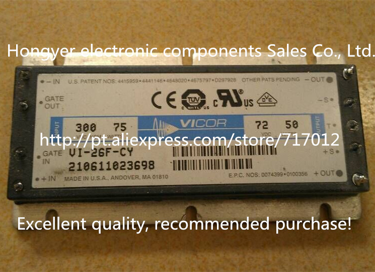 Free Shipping VI-26F-CY  DC/DC: 300V-72V-50W power supply voltage reduction module,Can directly buy or contact the seller