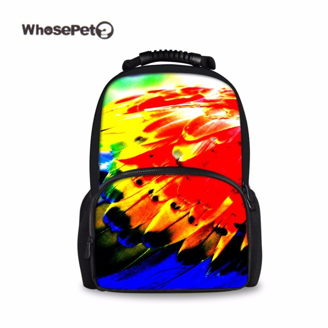 WHOSEPET Graffiti Women\'s Backpack Colorful Stylish Book Bag for ...