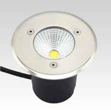цена на Free Shipping AC85-265V IP68 10W Warm Cold White Buried Lamp Inground Lighting Outdoor COB LED Underground Lamp Light