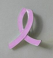 Рак молочной Железы Осведомленности Pink Ribbon Брошь Булавки Эмаль Брошь для Борьбы со спидом Индивидуальные