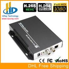 HEVC H.265 H.264 3G HD SD SDI Para Streaming De Vídeo IP Encoder H265 Para Wowza, Códigos Xtream IPTV Servidor de Mídia, Transmissão ao vivo Transmitido