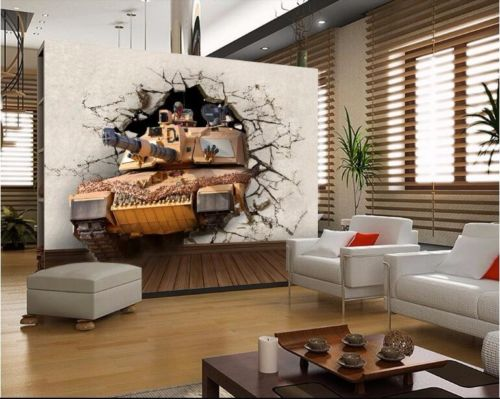 3D Walls Walls Large Frescoes Cartoon War Games Stereo Wallpapers Wallpapers Coffee Show Board Poster Walls