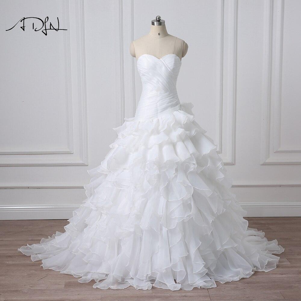 Robe de mariage sans manches pour l&rsqu ...