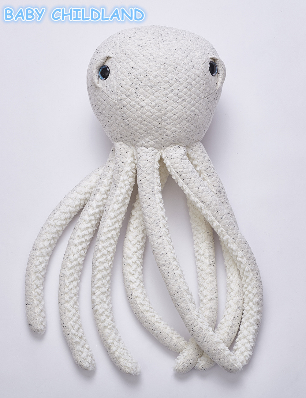 Baby Pillow Decorate Baby Room Decor Octopus Cushion Soft Infant Sleeping Doll Kids Baby Decorative Pillow Baby Plush Doll Toy