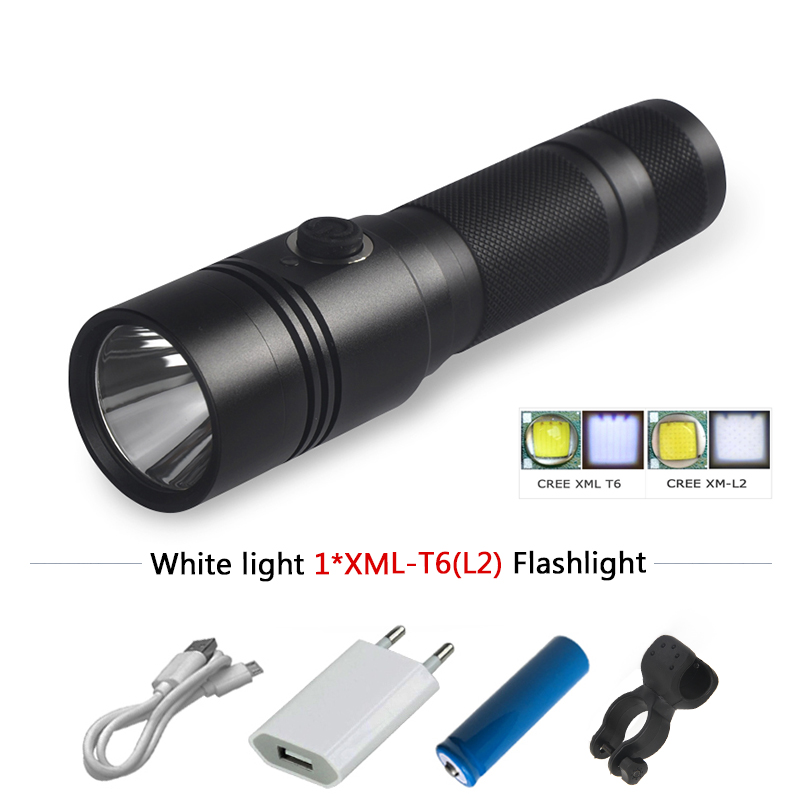 xm l2 t6 Portable mini led flashlight lanterna torch linterna waterproof lamp usb 18650 charge battery camping led zaklamp