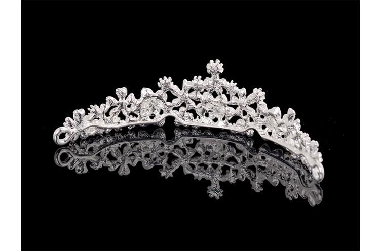 HTB1SJMzLXXXXXXraXXXq6xXFXXX7 Magnificent Bridal Prom Pageant Crystal Inlaid Queen Tiara Crown - 2 Styles