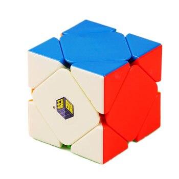 Cubo mágico pequeño de Yuxin 3x3 Skew cubo 3x3x3 Skew cubo mágico 3 capas Cubo de velocidad juguete de rompecabezas profesional para niños juguete de regalo