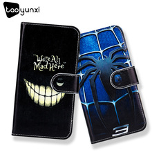 TAOYUNXI Flip PU Leather Case For Xiaomi Redmi 5A Case DIY Painted For Redmi5A 5.0inch Hard Plastic Wallet Case Anti-knock Cover