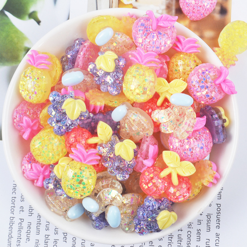 10g//pack Polymer clay fake candy sweets sprinkles diy slime phone supplies BH