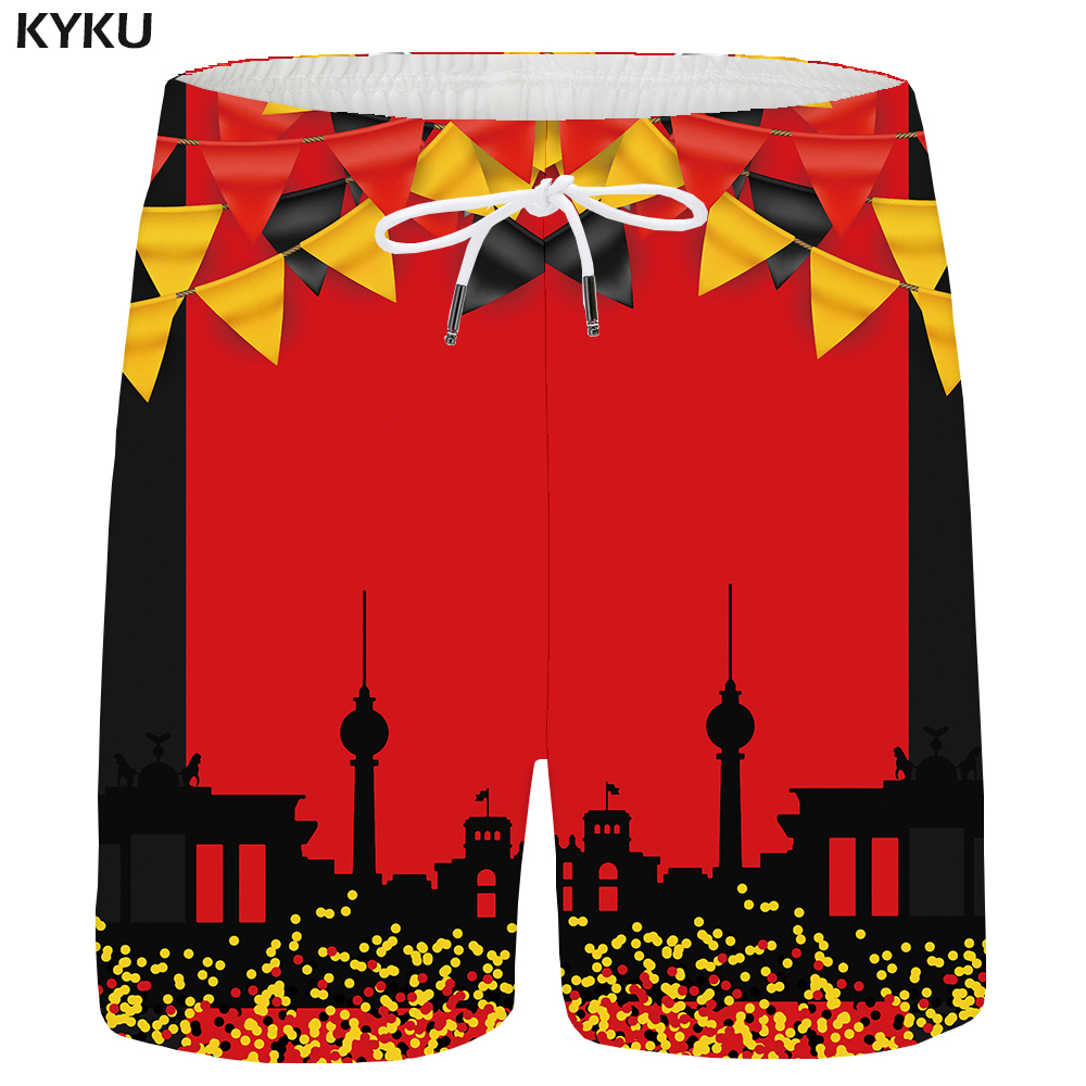 KYKU Fireworks Shorts Men Paint Cargo Shorts Beach White 3d Printed Short Cool Harajuku Casual Mens Short Pants 2018 New Summer
