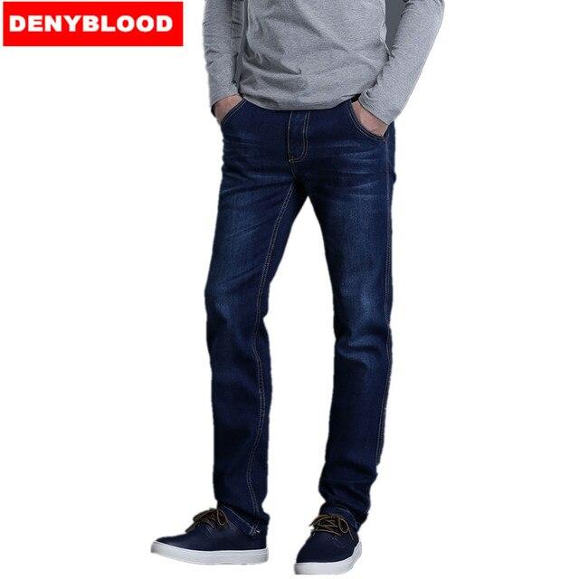 Plus Size 28 40 42 44 46 S 4XL 5XL 6XL 7XL Mens Denim Blue Classic ... 11880f47b85b