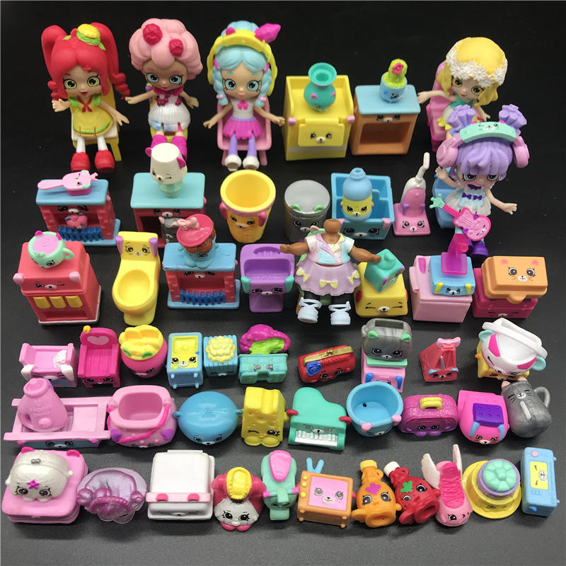 Hotsale Miniature Shopping Fruit Dolls Furniture chair Action Figures Family Suitable for lols Kids Gift Playing Toys Mixed