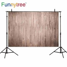 Funnytree backgrounds for photography studio wood plank wall vintage professional backdrop photobooth photocall printed