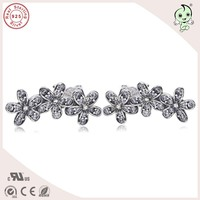 Top Quality Popular And Fashion New Collection Daisy Design 925 Sterling Silver Stud Earring