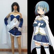 Puella Magi Madoka Magica Miki Sayaka cosplay costume halloween