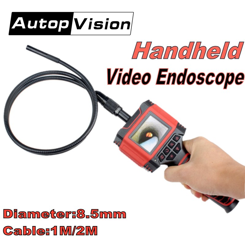 99D2 Handheld Video Endoscope Dia 8.5mm 1M 2M cable Borescope camera 2.3 Color LCD Waterproof Pipe Tube Snake Inspection Camera99D2 Handheld Video Endoscope Dia 8.5mm 1M 2M cable Borescope camera 2.3 Color LCD Waterproof Pipe Tube Snake Inspection Camera