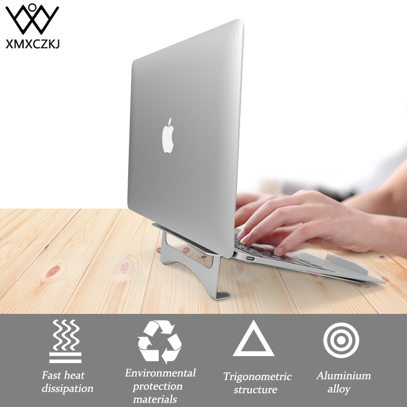все цены на XMXCZKJ Desk Aluminum Ventilated Holder Stand For Laptop MacBook Air Pro Lenovo More 10 Notebook iPad Tablet PC Desktop Holder