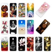 Case Voor Alcatel U5 3G 4047 4047D 4047Y Gevallen Silicon Foral Diy Painted Cover Voor Alcatel U5 Hd 5047 5047D 1S 2019 5024D Covers(China)