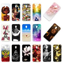 Case For Alcatel U5 3G Cases Silicon Foral DIY Painted Cover For Alcatel  U5 5047 5047D 4047 4047D 4047Y 1S 2019 5024D Covers