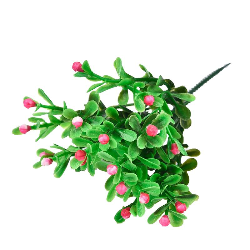 1pcs Artificial Flower Artificial Milan Grain Flower Wedding Party Garden Home Decoration Flowers And Plastic Flowers