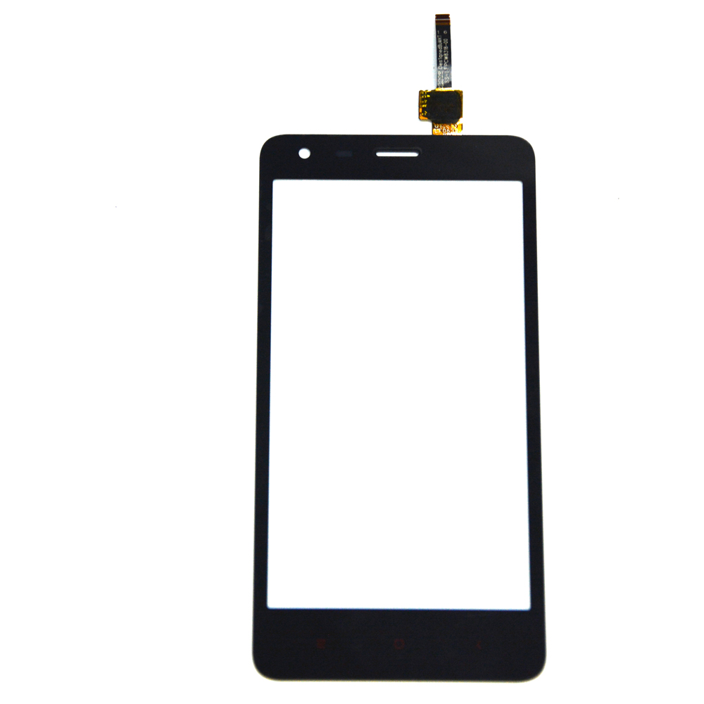 10pcs/lot New Touch Screen For Xiaomi redmi 2 Glass Capacitive sensor For Xiaomi redmi 2 Touch Screen panel Black+tracking no