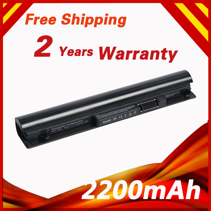 <font><b>2200mAh</b></font> 3 cells Laptop <font><b>battery</b></font> For HP Pavilion MR03 HSTNN-IB5T 740005-121 740722-001 For HP Pavilion 10 TouchSmart Series image