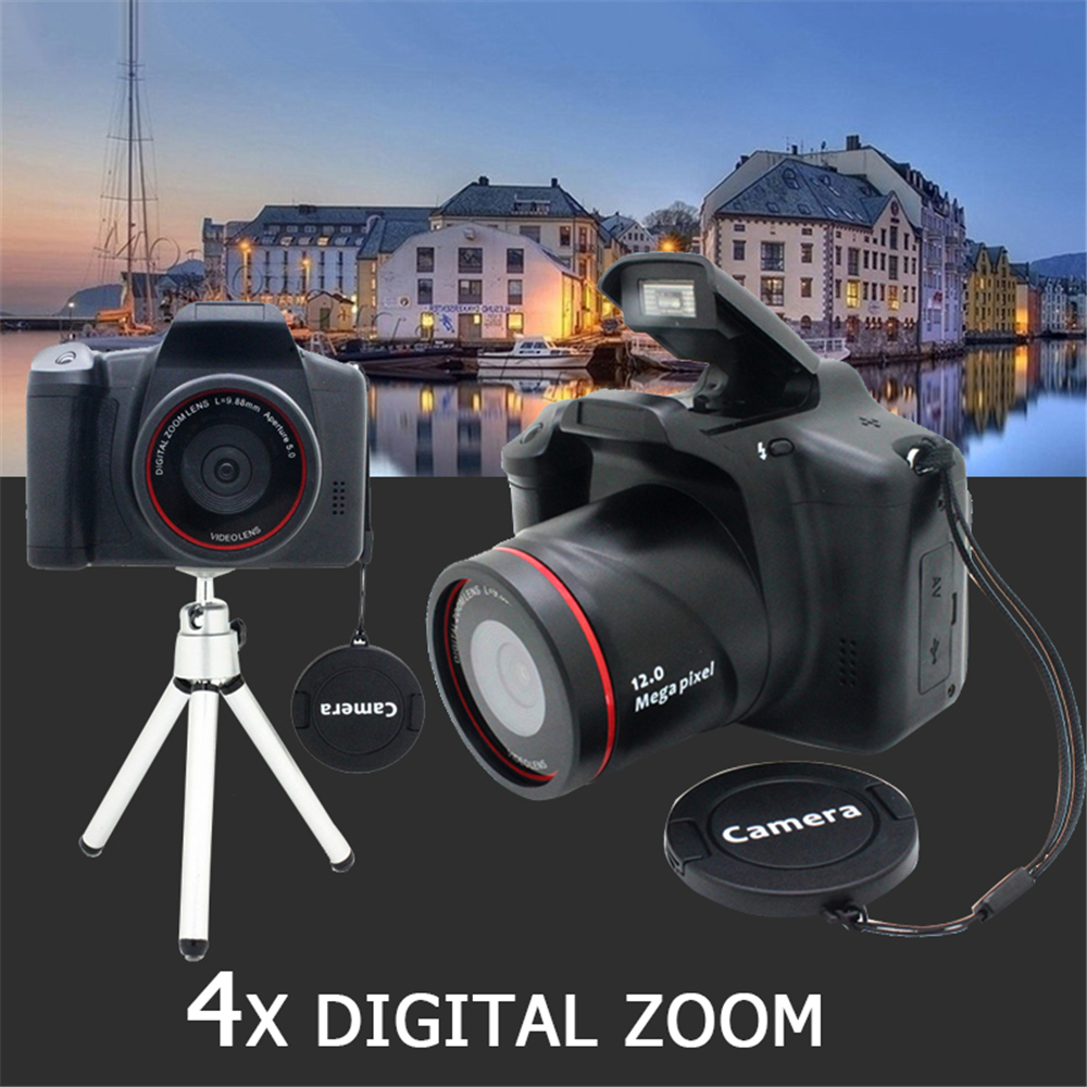 цены Cewaal Professional Digital Video Camcorder Digital Camera 1200W Optical Zoom 4X DVR Photography Photo CMOS Gift