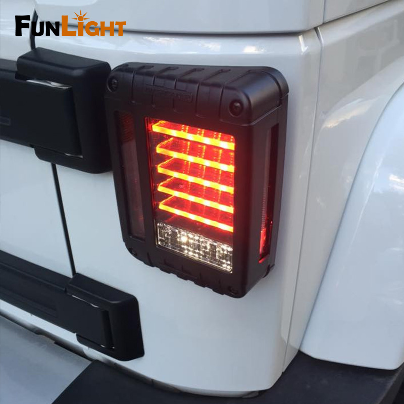 LED Tail Light For Wrangler JK (12)