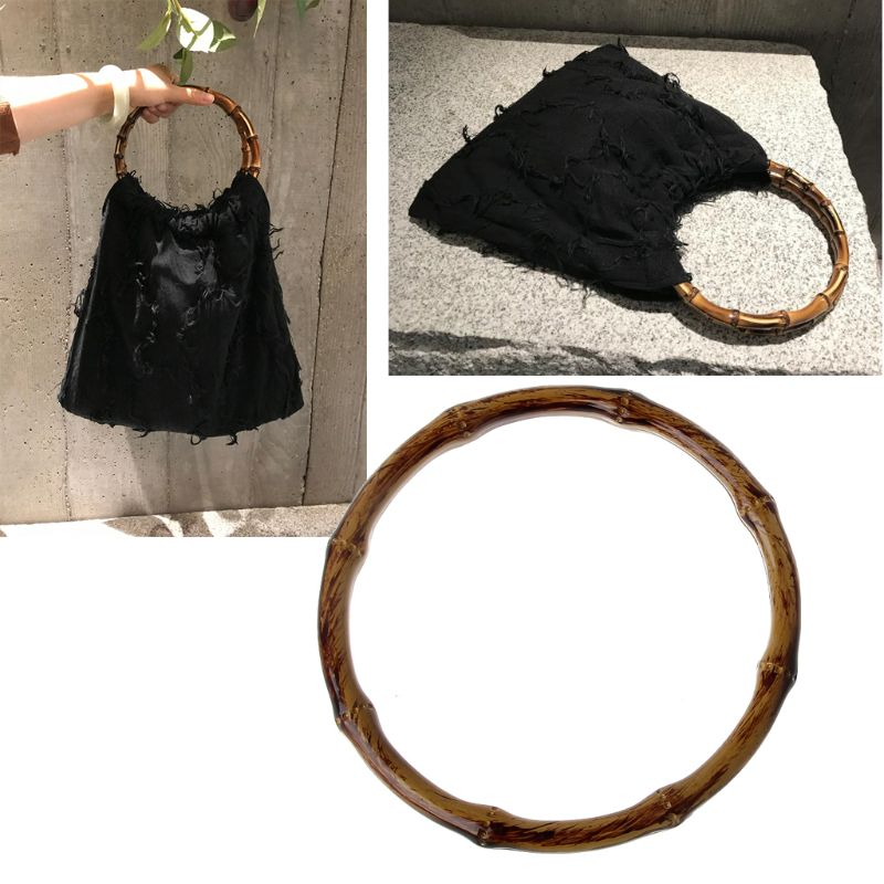 Round Shaped Handles Handbag Hanger Replacement For Bag Handbags Purse Shopping Tote DIY Purse Bag Accessories New