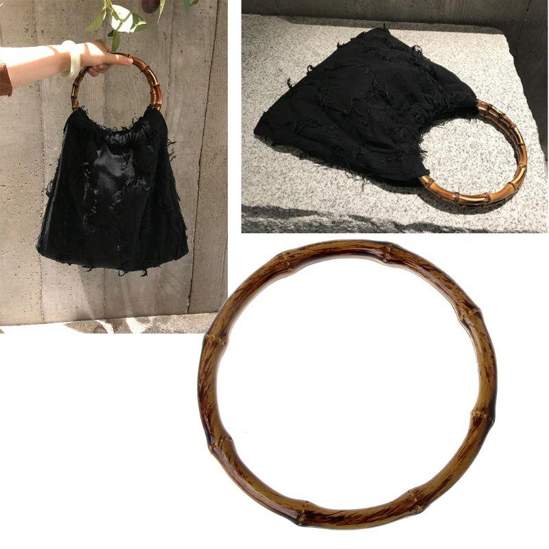Round Shaped Handles Handbag Hanger Replacement For Bag Handbags Purse Shopping Tote DIY Purse Bag Accessories New