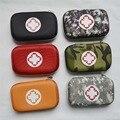 Caixa vazia para Kits de Primeiros Socorros de Emergência Pack Tratamento 6 cores Camo Vermelho