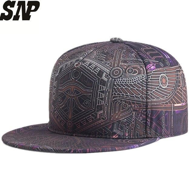 New 3D Printing Snapback Hats Summer Autumn Baseball Caps For Men Women  Couple Cork Hats Hip Hop Quality Cotton Stitching Cap 04512e7fb28