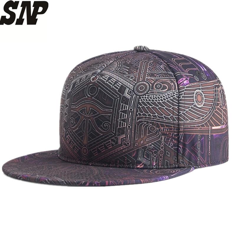 New 3D Printing Snapback Hats Summer Auts