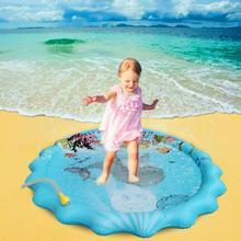 Lawn Beach Play Game Sprinkler Cushion Water Spray Pad Summer Children Outdoor Sprinkler Mat
