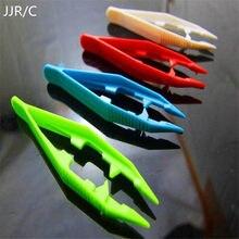 Jjr/c 10 pçs engraçado durável crianças ferramentas pinças crianças artesanato para perler grânulo novo design