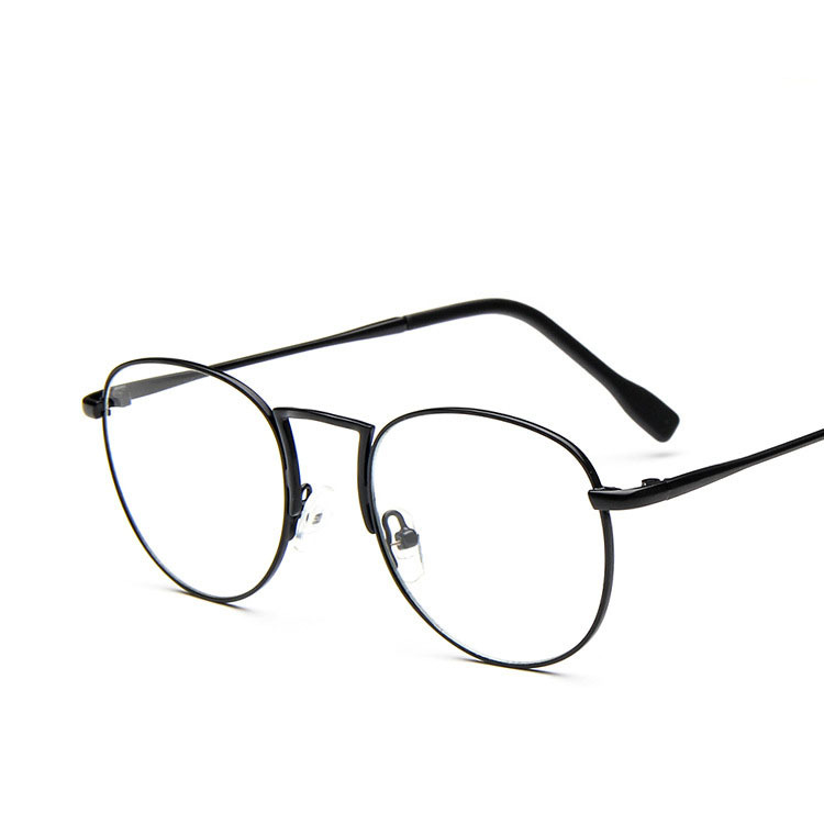 2016 fashion round eyeglasses frames for women korean oversized circle glasses 9706 hot sale oculos