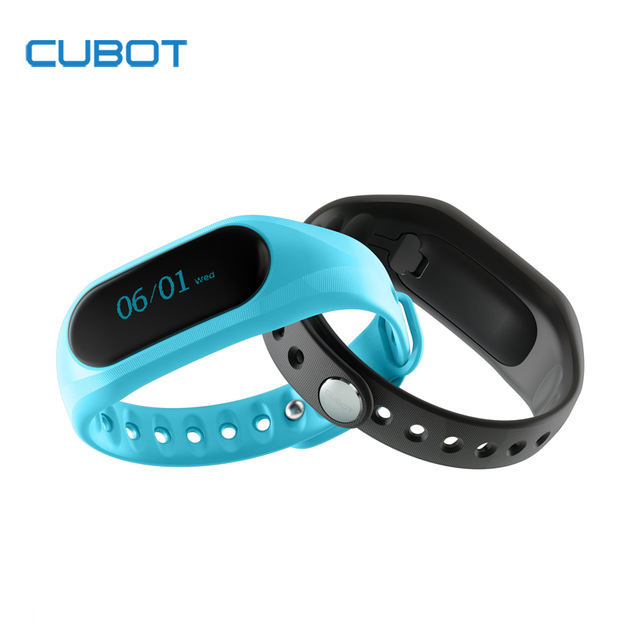 imágenes para Cubot V1 Pantalla Táctil A Prueba de agua Banda Inteligente Pulsera Bluetooth 4.0 Monitor de Sueño Pulsera para Teléfonos Andriod