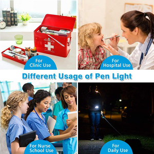 Image 5 - ชาร์จไฟฉายLEDปากกาไฟฉายขนาดเล็กCool White + WarmแสงสีขาวUSBสายชาร์จใช้สำหรับCamping,แพทย์