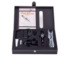 1 Set Complete Cosmetic Tattoo Kits Mosaic Permanent Makeup Machine Kit With Foot Pedal Tattoo Gun Supply