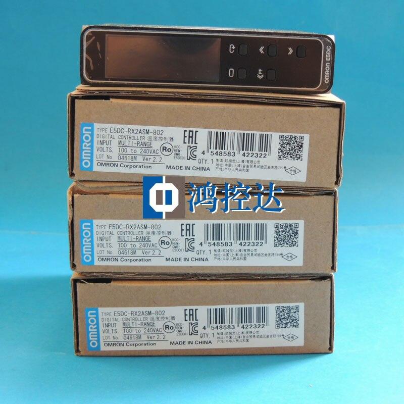 New Omron Temperature Controller E5DC-RX2ASM-802New Omron Temperature Controller E5DC-RX2ASM-802