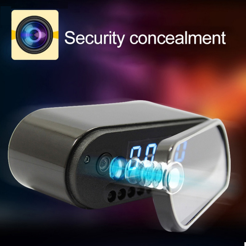 New Mini Camera Clock Alarm P2P Livecam IR Night Vision Wifi Cam IP 720 Mini DV DVR Camcorder Wifi Remote Control