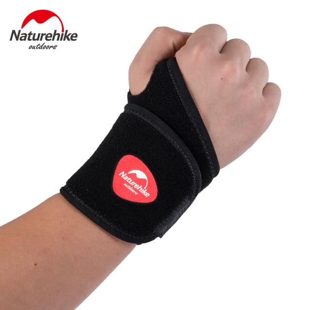 7ffda12a40b18 Naturel randonnée poignet soutien protection poignet Joint attelle poignet  bande Bandage bracelet pour balle Sport basket