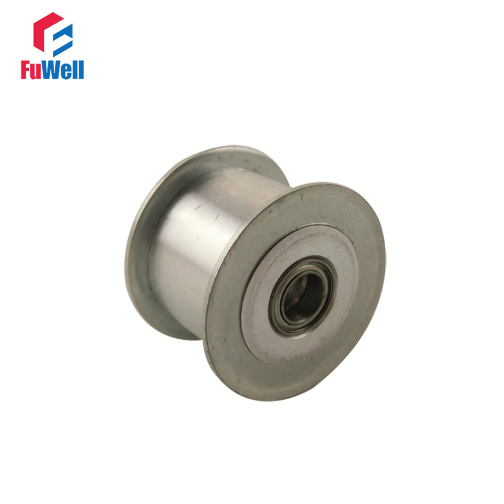 HTD 5M-25T Timing Idler Pulley 16/21/27mm Belt Width Bearing Synchronous Wheel Without Teeth 5/6/7/8/10/12/15mm Bore Idle Pulley все цены