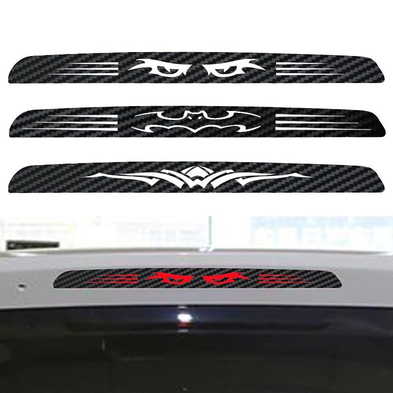 Автомобильная наклейка для honda Odyssey, специальная наклейка на тормозные огни, стикер из углеродного волокна, задние фонари, Стайлинг автомоби...