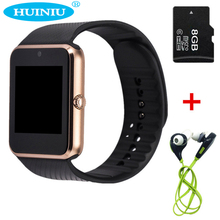 GT08 Smart Watch Clock With Sim Card Slot Push Message Bluetooth Connectivity Android Phone PK DZ09 V8 Inteligente Smartwatch