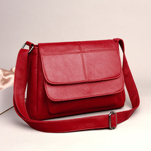 Simple Classic Square Bags 2019 New Elegant Ladies Shoulder Bag High Quality Leather Womens Crossbody