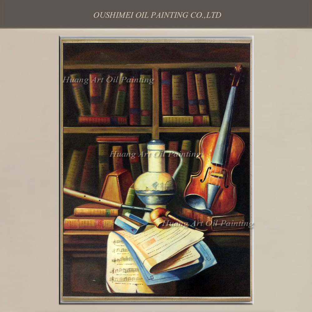 Online kopen wholesale viool schilderen uit china viool schilderen groothandel - Muur bibliotheek ...
