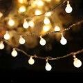 3.3 M 20LED Lâmpadas Operado Bola Luminaria Decoração de Cordas luzes de natal iluminação do feriado festa indoor l61221